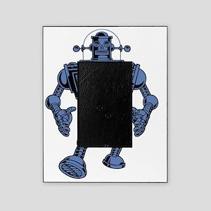 robot-313-bluT Picture Frame