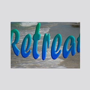 Gulf and Bay Retreat Rectangle Magnet