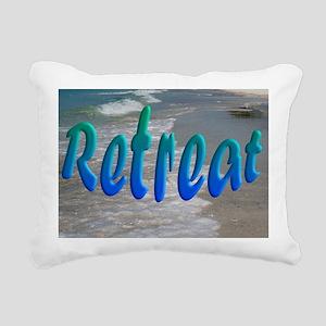 Gulf and Bay Retreat Rectangular Canvas Pillow