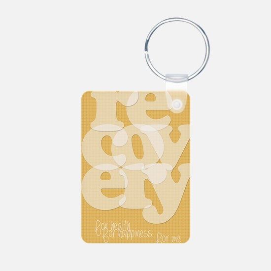 Orange Recovery Keychains