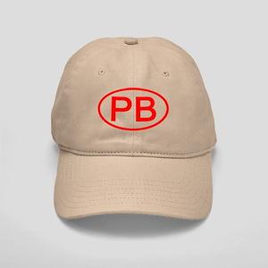 PB Oval (Red) Cap