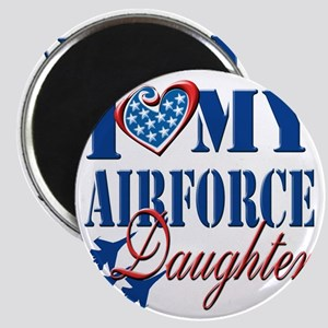 I Love My Airforce Daughter Magnet