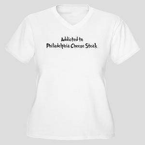 Addicted to Philadelphia Chee Women's Plus Size V-