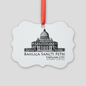Basilica Sancti Petri Picture Ornament