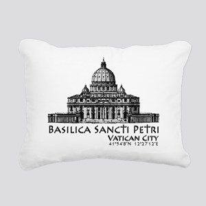 Basilica Sancti Petri Rectangular Canvas Pillow