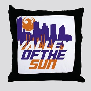 Valley of the Sun Throw Pillow