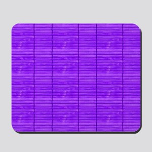 Purple Wooden Slat Blinds Mousepad