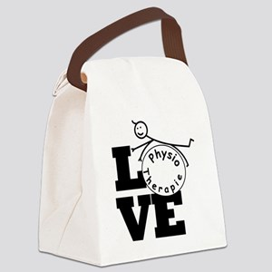 Love Physiotherapie Canvas Lunch Bag