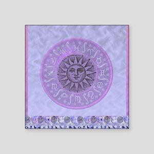 "zodiac blue Square Sticker 3"" x 3"""