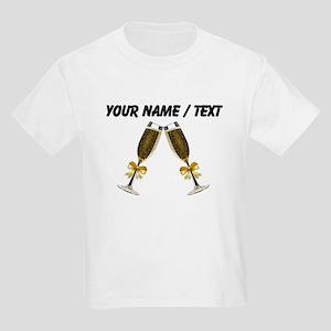 Custom Champagne Glasses T-Shirt