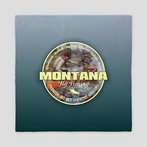 Montana Fly Fishing Queen Duvet
