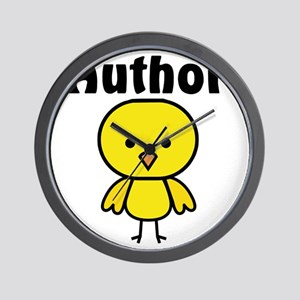 Author Chick Wall Clock