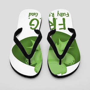 F.R.O.G. Flip Flops
