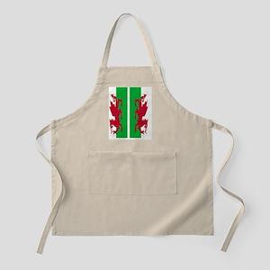 Welsh Flag Apron
