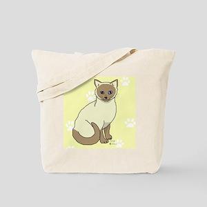 Mowgli on yellow Tote Bag