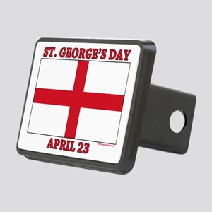 St.Georges Day Rectangular Hitch Cover