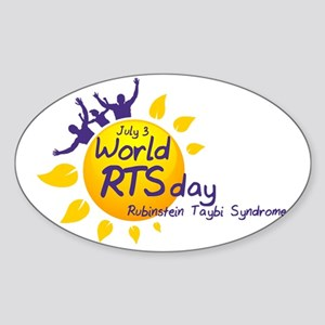 World RTS Day Sticker (Oval)