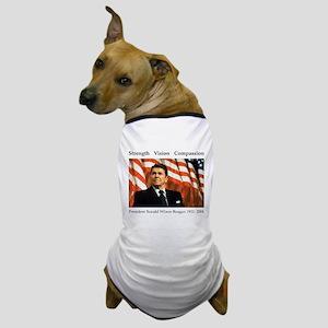 Ronald Reagan Memorial Dog T-Shirt