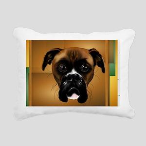 Handsom Boxer-5000 Rectangular Canvas Pillow