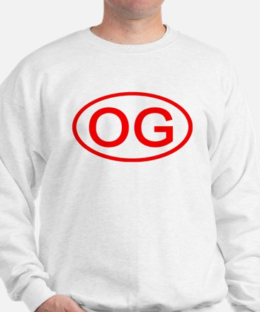 OG Oval (Red) Sweatshirt