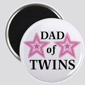 Dad of Twins (Girls) Magnet