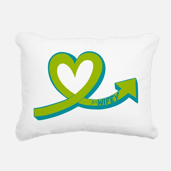 My Wifey Rectangular Canvas Pillow