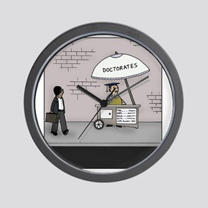 Doctorate Stand Wall Clock