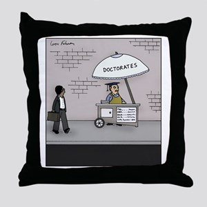 Doctorate Stand Throw Pillow