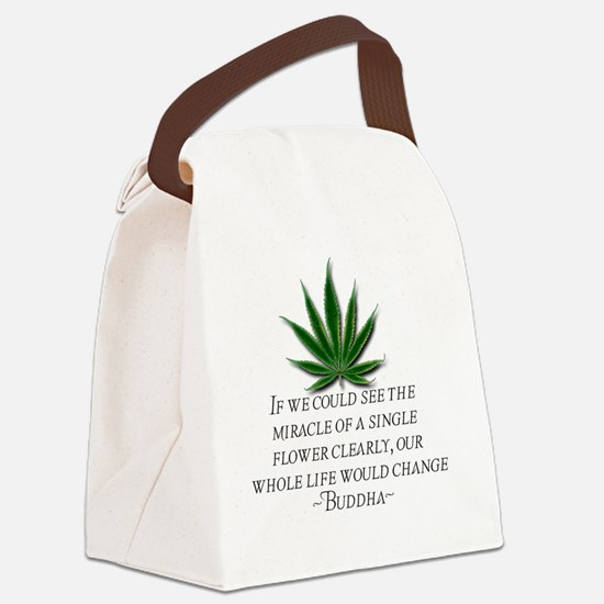 Seeing Clearly Canvas Lunch Bag