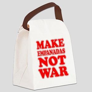 Make Empanadas Not War Canvas Lunch Bag