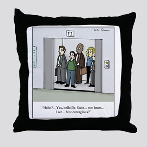How Contagious? Throw Pillow