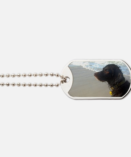 Scully Beach Profile Dog Tags