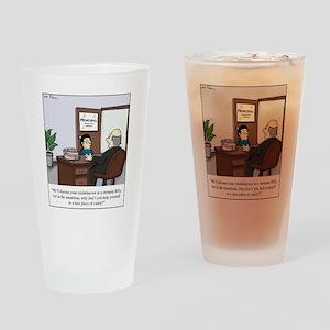 Ritalin bowl Drinking Glass