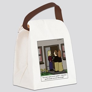 Eternity Together Canvas Lunch Bag