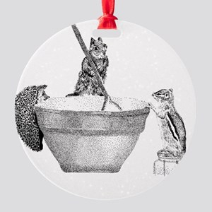 Mixing bowl Round Ornament
