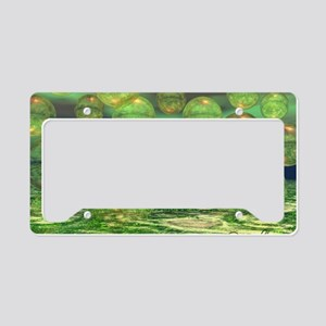 Spring Creation 35x21 Wall Pe License Plate Holder