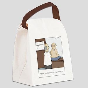 Dermastrologist Canvas Lunch Bag