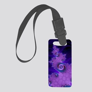 Fractal Small Luggage Tag