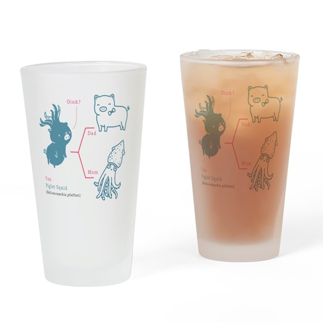 Piglet Squid Drinking Glass by Admin_CP49440627