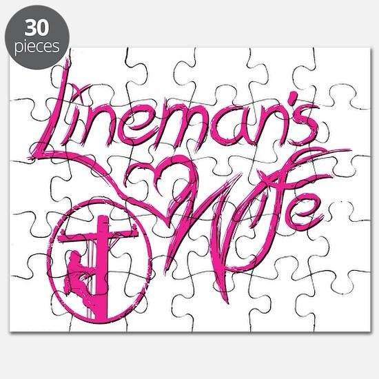 Linemans Wife Design Puzzle