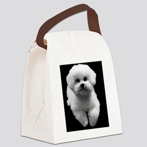 Beau the Beautiful Bichon Canvas Lunch Bag