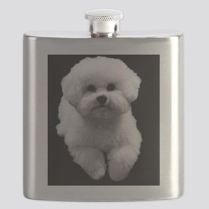 Beau the Beautiful Bichon Flask