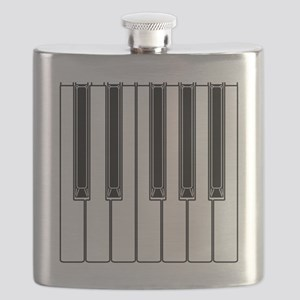 piano shower curtain Flask