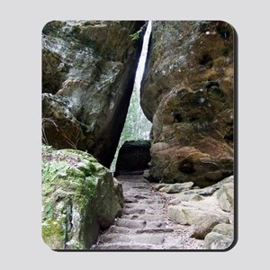 Narrow Squeeze Hocking Hills Trail Mini  Mousepad