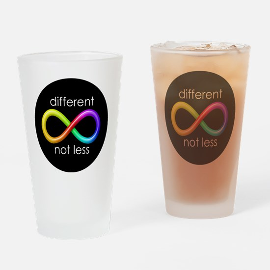 Different, Not Less Drinking Glass