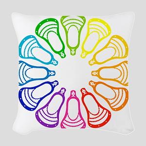 Lacrosse Spectrum Woven Throw Pillow