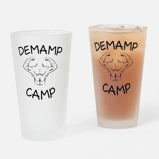 DeMamp Camp Workaholics Drinking Glass