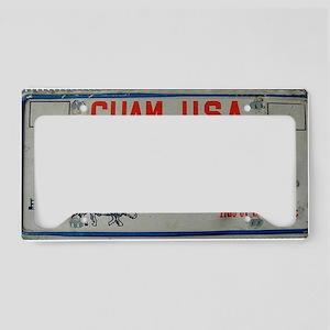 old Guam license plate License Plate Holder