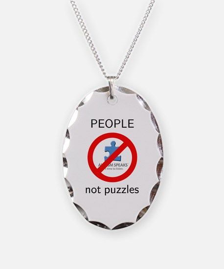 PEOPLE, not puzzles Necklace