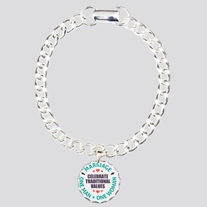 Celebrate Traditional Va Charm Bracelet, One Charm